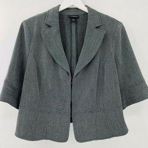 Lane Bryant Cropped Blazer Jacket